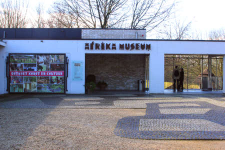 afrika: Groesbeek  Nijmegen, Netherlands, 2015 African arts in the Afrika Museum in Berg en Dal