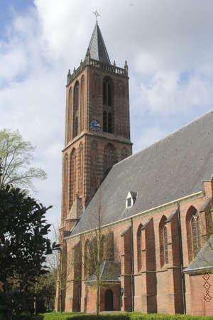 nicolaas: Grote Kerk or Sint-Nicolaas Kerk in Eemnes, province Utrecht, Netherlands