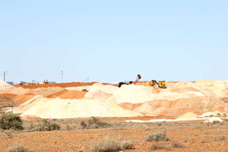 the outback: Opal mining in Andamooka, Outback South Australia