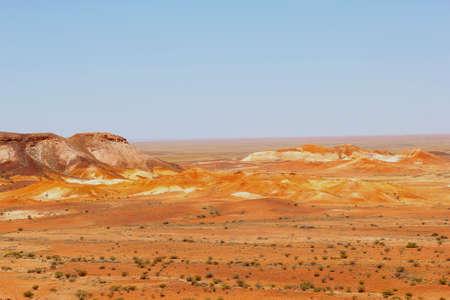 aborigines: Breakaways, a holy place for the Aborigines, Australia