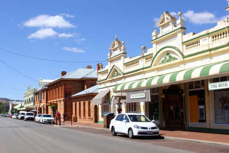 australasia: York, Western Australia, in December 2015 Heritage buildings from the 1850s and 1860s and a Motor Museum in York, the oldest inland town of Western Australia