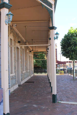 western australia: Ancient historic gallery in York, Western Australia
