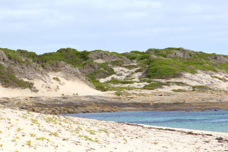 fitzgerald: Sand dunes along the ocean in Munglinup, between Ravensthorpe and Esperance, Australia