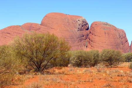tjuta: Uluru Kata Tjuta landscape, Australia