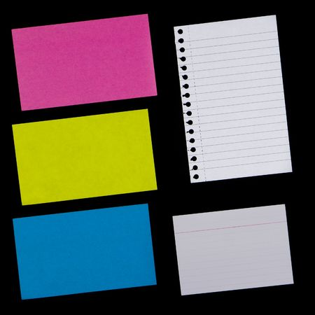 Various Pieces of Paper