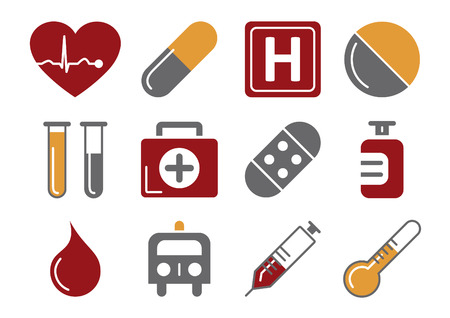 red tube: Iconos m�dicos