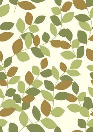 Fondo transparente de hojas
