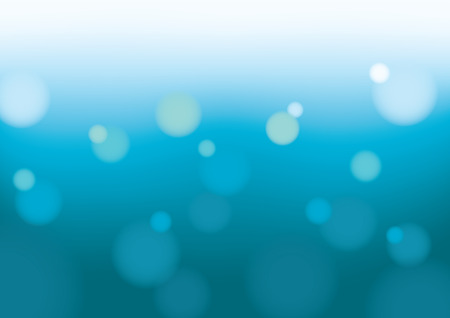 Abstract Bokeh Background - Blue Vector