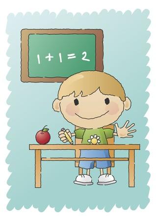 matematik: School Boy