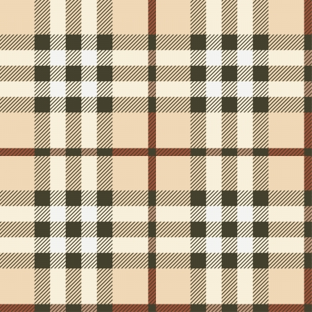 horizontally: Seamless plaid fabric background.  Can be tiled horizontally and vertically. Illustration