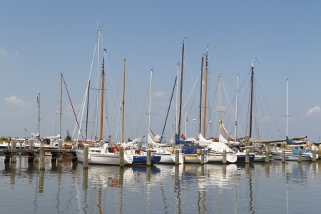 marken: The small marina of Marken is a well-known tourist spot in the Netherlands. Editorial