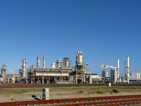 catalytic: Refinery plant   Stock Photo