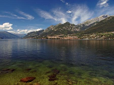 di: lago di como, lake como italy Stock Photo