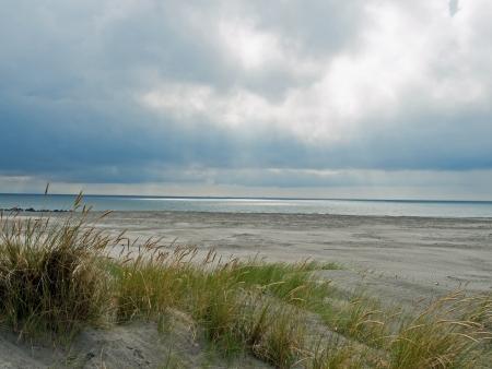north sea: Desolate beach