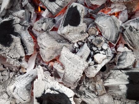 smoldering: Smoldering lump charcoal of the quebracho tree, Premium grade restaurant and Barbeque lumpwood charcoal
