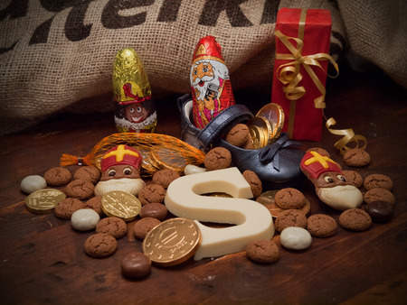 santa s bag: Pakjesavond, St Nicholas Day