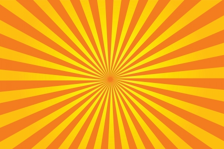 Vecteur de sunburst