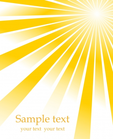 radial: Sunburst vector