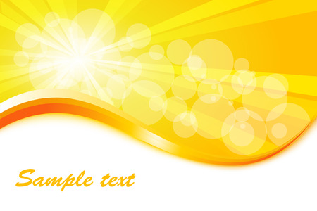 Sunburst vector background  Illustration