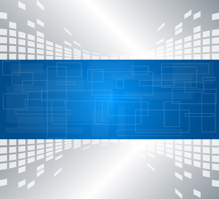 presentation template: Abstract technology background