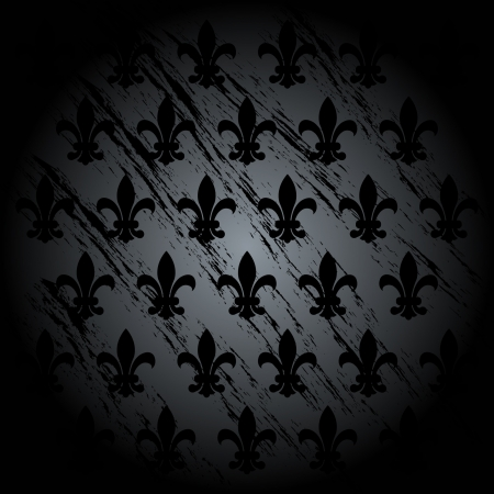 french culture: Fleur de lys vector