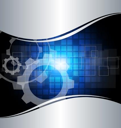 industry background: Fondo de tecnolog�a abstracto