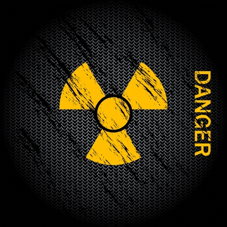 Nuclear Danger Background  Vector
