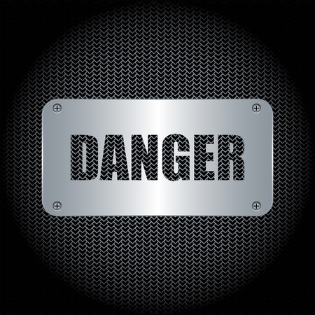 Danger Background  Illustration