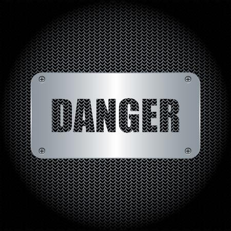 Danger Background Stock Vector - 9483889