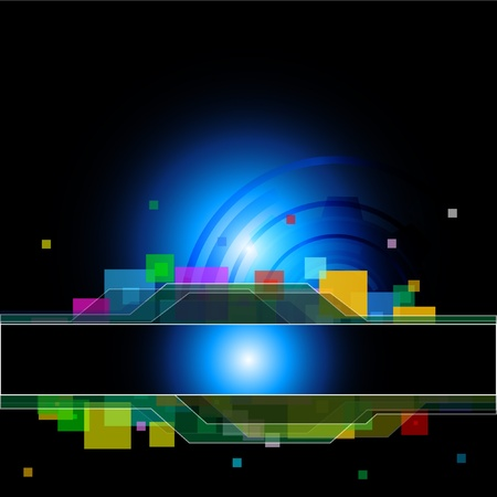 hi tech: Abstract background