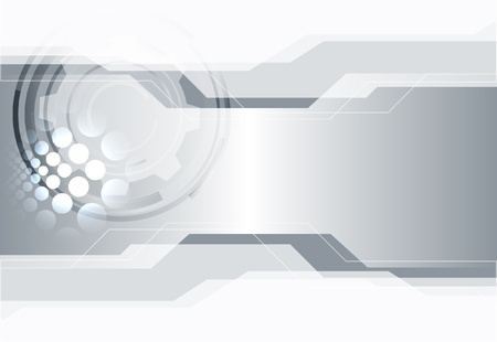 silver: Abstract background