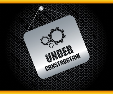 web page under construction: Under construction vector  Illustration