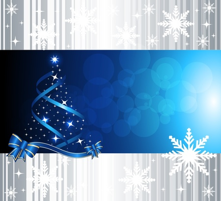 newyear card: Abstract christmas background