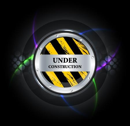 Under construction vector  Stock Vector - 11656875