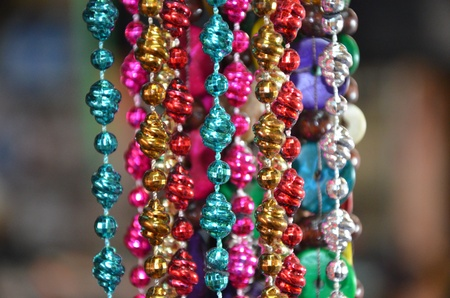 Colourful beads Stock Photo
