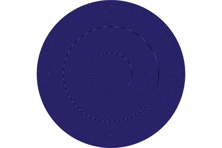 Blue disk