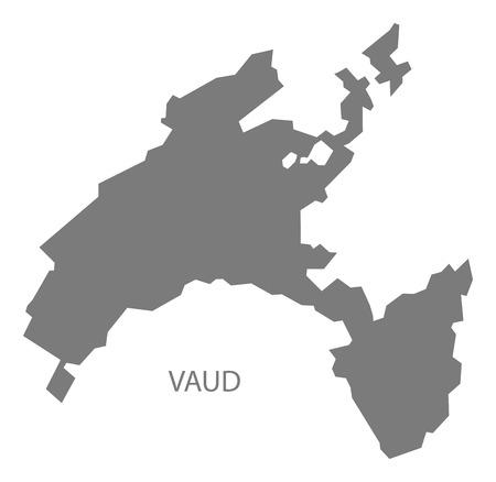 Schweiz Karte Schwarz Weiss.Schweiz Mit Bundeslandern Karte Schwarz Weiss Lizenzfrei