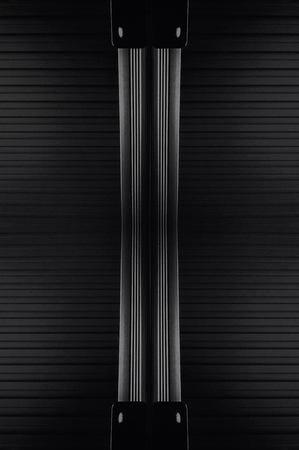 experimental: Experimental abstract metal texture art Stock Photo