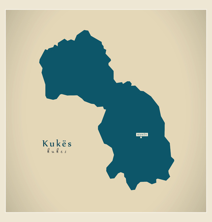 modernity: Modern Map - Kukes AL