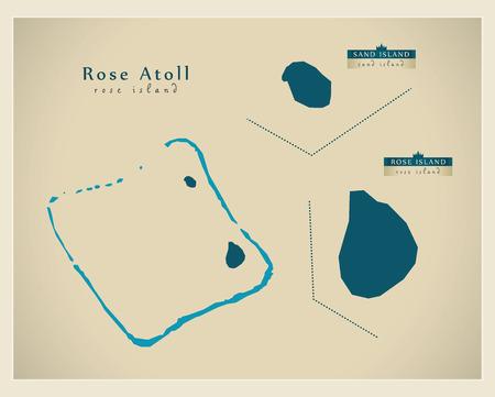 atoll: Modern Map - Rose Atoll AS