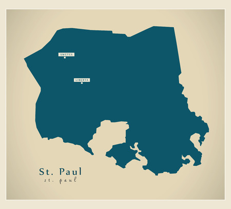 ag: Modern Map - St. Paul AG