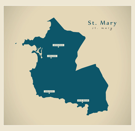 ag: Modern Map - St. Mary AG