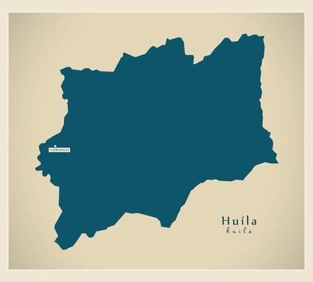 regional: Modern Map - Huila AO