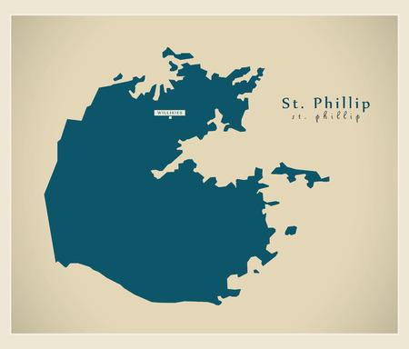 ag: Modern Map - St. Phillip AG