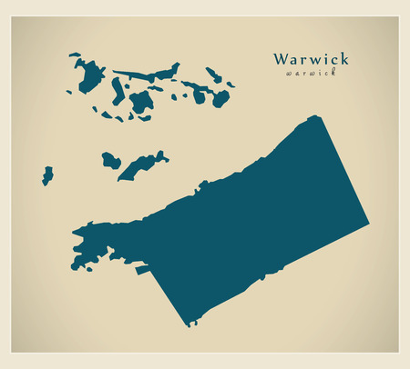 hamilton: Modern Map - Warwick BM