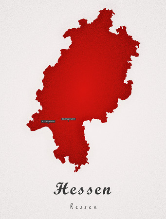 hessen: Hessen Germany DE Art Map