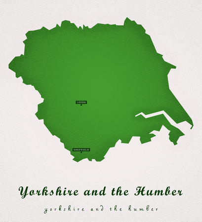 yorkshire and humber: Yorkshire and the Humber UK Art Map