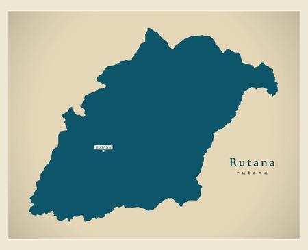 Modern Map - Rutana BI