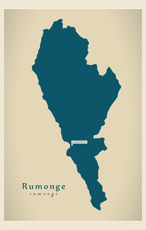 Modern Map - Rumonge BI
