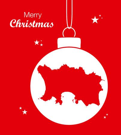 jersey: Merry Christmas Map Jersey